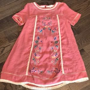 Small embroidered Umgee Dress
